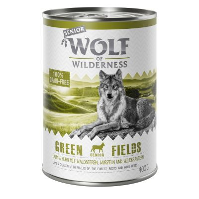 Wolf of Wilderness Senior 6 x 400g