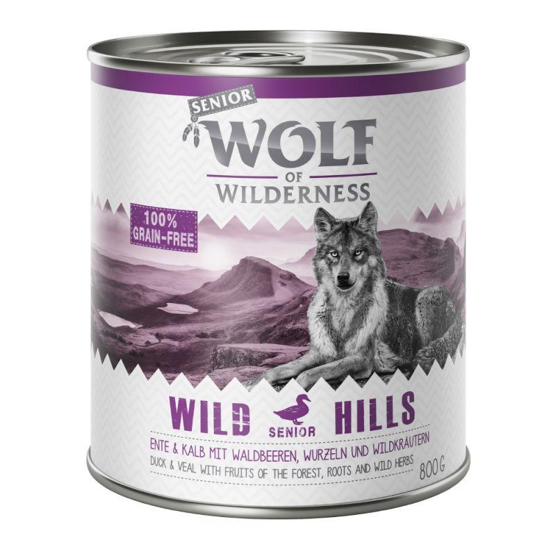 Wolf of Wilderness Senior 6 x 800g