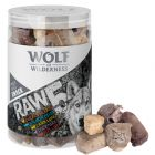 Wolf of Wilderness Snack - RAW 5 (blandpack, frystorkat)