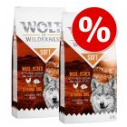 Wolf of Wilderness Soft & Strong 2 x 12 kg - Pack Ahorro