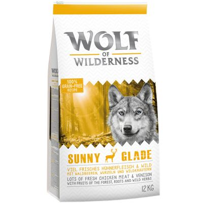 Wolf of Wilderness Sunny Glade con venado