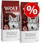 Wolf of Wilderness 'The Taste Of' gazdaságos csomag (2 x 12 kg)