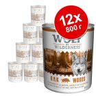 Эконом упаковка Wolf of Wilderness 12 x 800 г