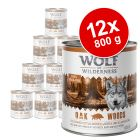 Wolf of Wilderness 12 x 800 g