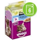 6 x 50 г паучове Whiskas Fresh Menue