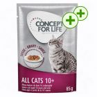 2 x bonuspoint på Concept for Life All Cats 10+ - i sauce