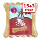 18 x 12cm Barkoo Filled Chew Bone – 15 + 3 Free!*