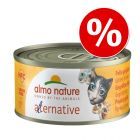 6 x 55 g / 70 g Almo Nature HFC Alternative zum Sonderpreis!