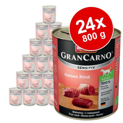 24 x 800 g Animonda GranCarno Sensitive
