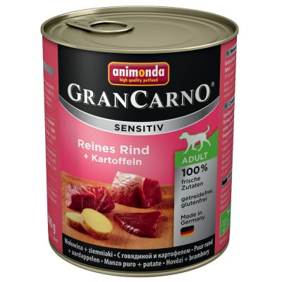 12 x 800 g Animonda GranCarno Sensitive