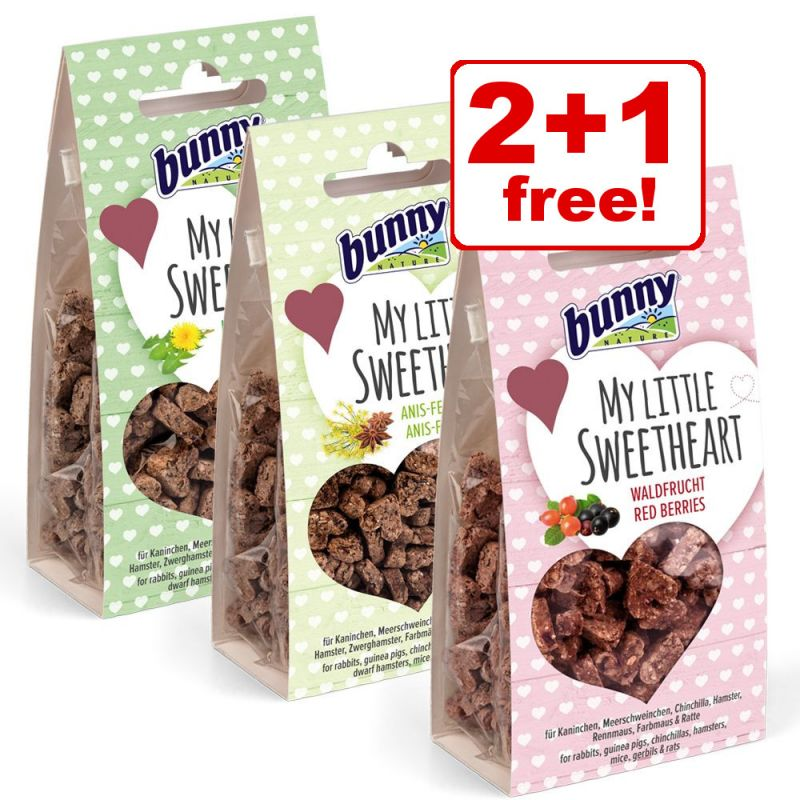 3 x 30g Bunny My Little Sweetheart Snacks - 2 + 1 Free!*