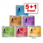 6 x 200g catz finefood Wet Cat Food - 5 + 1 Free!*