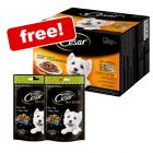 48 x 100g Cesar Pouches Fresh Selection In Sauce + 2 x Dog Snacks Free!*