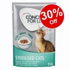 12 x 85g Concept for Life Wet Cat Food – 30% Off!*