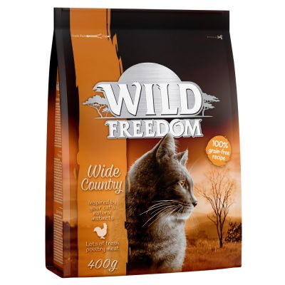 12 x 280g Cosma Nature + 400g Wild Freedom Wide Country Free!*