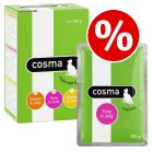 30 x 100g Cosma Original Pouches Mixed Pack - Special Price!*