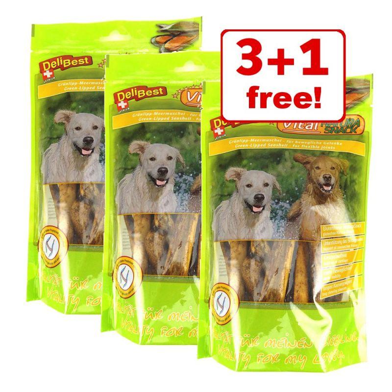 4 x 200g DeliBest Vital Natura Snack - 3 + 1 Free!*