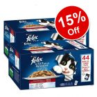 88 x 100g Felix As Good As It Looks Pouches in Jelly - 15% Off!*