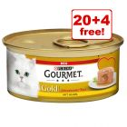 24 x 85g Gourmet Gold Melting Heart - 20 + 4 Free!*