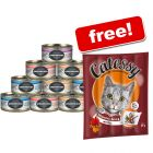 24 x 70g Greenwoods Adult Wet Cat Food + Catessy BBQ Turkey Sticks Free!*