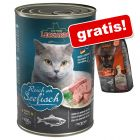 6 x 400 g Leonardo All Meat + 400 g Adult Duck gratis!