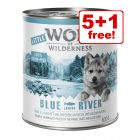 6 x 800g Little Wolf of Wilderness Junior Wet Dog Food - 5 + 1 Free!*