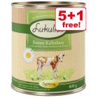 6 x 800g Lukullus Seasonal Menu: Tasty Veal Hearts - 5 + 1 Free!*