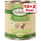 12 x 800g Lukullus Seasonal Menu: Tasty Veal Hearts - 10 + 2 Free!*