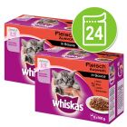 24 x 100 g Megapack Whiskas Junior Pliculețe