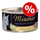 24 x 80 g Miamor Feine Filets Naturelle w super cenie!