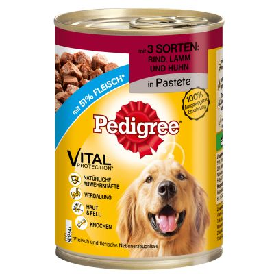 12 x 400 g Pedigree Vital Protection Adult Classic