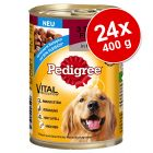 24 x 400 g Pedigree Vital Protection Adult Classic