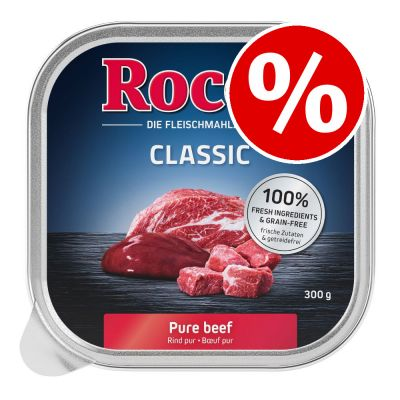 36 x 300g Rocco Classic Trays Wet Dog Food - Special Price!*
