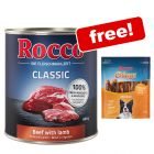 36 x 800g Rocco Classic Wet Dog Food + 200g Chings Snacks Free!*