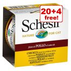 24 x 85g Schesir Natural Wet Cat Food – 20 + 4 Free!*