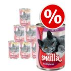 12 x 400g Smilla Beef Mixed Pack Wet Cat Food - Special Price!*