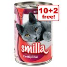 12 x 400g Smilla Mixed Packs - 10 + 2 Free!*