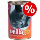 18 x 400g Smilla Poultry Pots Wet Cat Food - Special Price!*