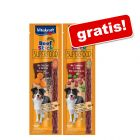 2 x 25 g Vitakraft Beef Stick Superfood gratis!