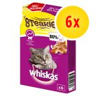 6 x 30 g Whiskas Steakies