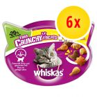 6 x 66 g Whiskas Trio Crunchy Treats