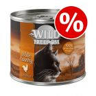 24 x 200g Wild Freedom Adult Wet Cat Food - Special Price!*