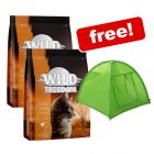 2 x 400g Wild Freedom Dry Cat Food + Camping Tent Cat Den Free!*