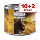12 x 200g Wild Freedom Adult Mixed Pack - 10 + 2 Free!*