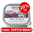 6 x 300g Wolf of Wilderness Adult Mixed Pack