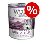 12 x 800g Wolf of Wilderness Mixed Pack Wet Dog Food - Special Price!*