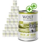 24 x 400g Wolf of Wilderness Wet Dog Food - Double Points!*