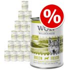 24 x 400g Wolf of Wilderness Wet Dog Food - Special Price!*