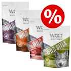 4 x 180g Wolf of Wilderness Wild Bites Snacks Mixed Pack - Special Price!*