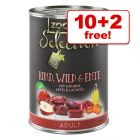 12 x 400g zooplus Selection Wet Dog Food - 10 + 2 Free!*